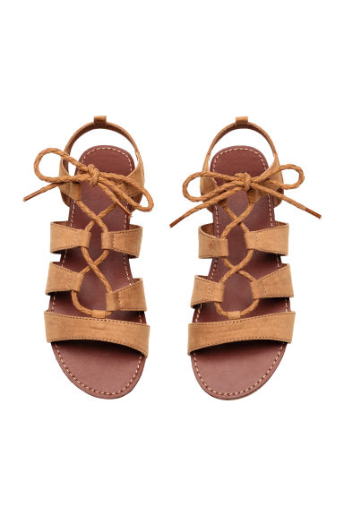 Sandals - Camel - Kids | H&M 1