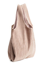 Pleated shopper - Powder pink - Ladies | H&M CN 3