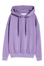 Hooded top - Purple marl - Ladies | H&M 2