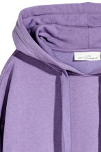Hooded top - Purple marl - Ladies | H&M 3