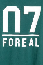 Cotton T-shirt - Petrol green - Kids | H&M CN 2
