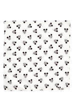 Patterned scarf - White/Mickey Mouse -  | H&M 2