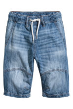 Denim shorts - Denim blue -  | H&M 2