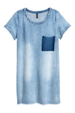 Short denim dress - Denim blue - Ladies | H&M CN 2