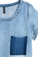 Short denim dress - Denim blue - Ladies | H&M CN 3