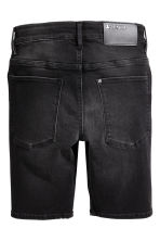Skinny fit Shorts - Black washed out -  | H&M 3
