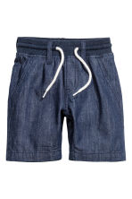 Shorts in jeans - Blu denim scuro - BAMBINO | H&M IT 2
