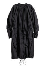 Nylon trenchcoat - Black - Ladies | H&M 1