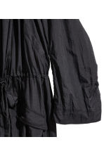 Nylon trenchcoat - Black -  | H&M 2