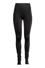 Nylon leggings - Black -  | H&M CN 1