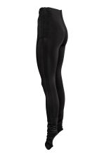 Nylon leggings - Black -  | H&M CN 2