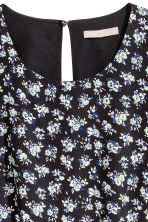 H&M+ Patterned dress - Black/Floral - Ladies | H&M CN 3