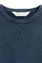 Fine-knit jumper - Dark blue - Kids | H&M CN 3