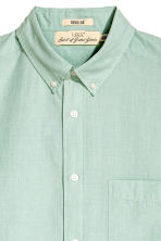 Short-sleeve shirt Regular fit - Dusky green - Men | H&M 3