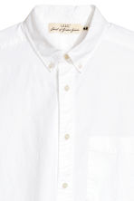 Short-sleeve shirt Regular fit - White - Men | H&M 2