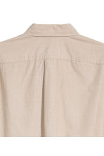 Short-sleeve shirt Regular fit - Beige - Men | H&M CN 3