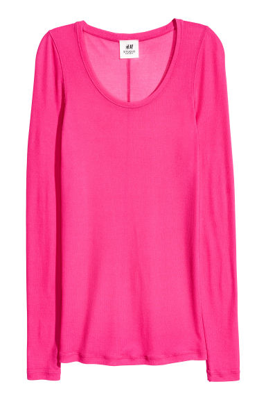 Top in seta - Ciliegia - DONNA | H&M IT 1