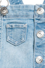 Dungaree shorts - Light denim blue - Kids | H&M 3