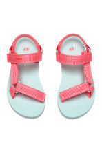 Sandals - Coral pink -  | H&M 2