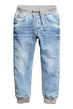 Super Soft denim joggers - Light denim blue - Kids | H&M 2