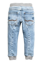 Super Soft denim joggers - Light denim blue - Kids | H&M 3
