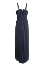 Draped bandeau dress - Dark blue - Ladies | H&M 2