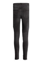 Slim High Ankle Jeans - Black denim - Ladies | H&M 4