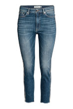 Slim High Ankle Jeans - Denim blue/Silver - Ladies | H&M CA 1
