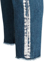 Slim High Ankle Jeans - Blu denim/argentato - DONNA | H&M IT 3