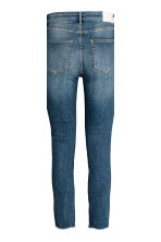 Slim High Ankle Jeans - Blu denim/argentato - DONNA | H&M IT 4