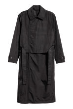 Nylon trenchcoat - Black - Men | H&M 1