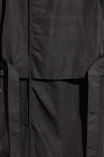 Nylon trenchcoat - Black - Men | H&M 2