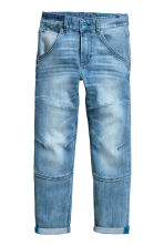Relaxed Tapered Jeans - Light denim blue -  | H&M 2