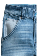 Relaxed Tapered Jeans - Light denim blue - Kids | H&M 5