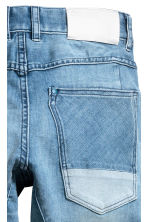 Relaxed Tapered Jeans - Light denim blue -  | H&M 4