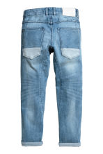 Relaxed Tapered Jeans - Light denim blue -  | H&M 3