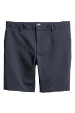 Slim fit Shorts - Dark blue - Men | H&M GB 2