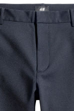 Slim fit Shorts - Dark blue - Men | H&M 4