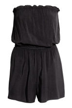 Strapless playsuit - Black - Ladies | H&M 3