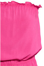 Strapless playsuit - Cerise - Ladies | H&M CA 3