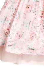 Dress with a tulle skirt - Pink/Frozen - Kids | H&M CN 3