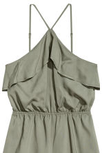 Playsuit met volant - Kakigroen - DAMES | H&M BE 3