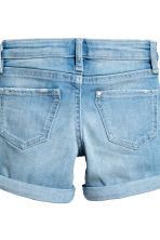 2-pack denim shorts - Denim blue/Dark denim blue -  | H&M 4