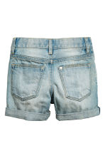 2-pack denim shorts - Denim blue/Dark denim blue - Kids | H&M IE 3