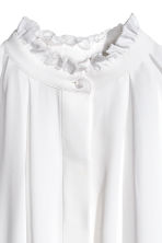 Wide tunic - White - Ladies | H&M CN 3