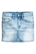 Denim skirt - Light denim blue -  | H&M 2