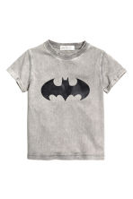 Printed T-shirt - Grey/Batman - Kids | H&M CN 2