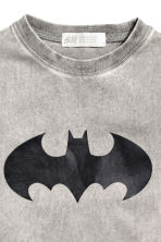 Printed T-shirt - Grey/Batman - Kids | H&M CN 3