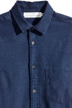 Camisa de algodón Regular fit - Azul denim oscuro -  | H&M ES 3