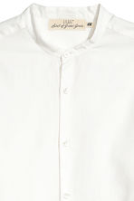 Grandad shirt Regular fit - White - Men | H&M 2